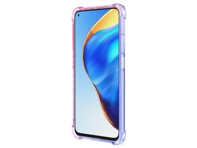 Силиконов Гръб Anti-Drop за Xiaomi Mi 10T 5G/Mi 10T Pro 5G, Син/ Розов