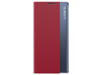 Калъф Тефтер View Window Auto-absorbed за Xiaomi Mi 10T 5G / Mi 10T Pro 5G, Червен