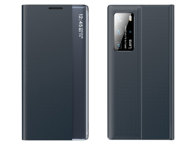 Калъф Тефтер View Window Auto-absorbed за Xiaomi Mi 10T 5G / Mi 10T Pro 5G, Тъмно син