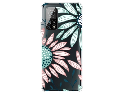 Силиконов калъф за Xiaomi Mi 10T 5G/10T Pro 5G, Цветя