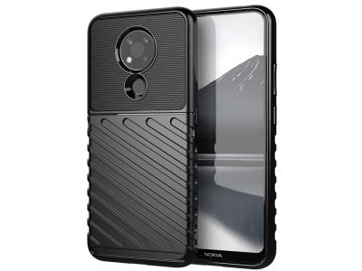 Силиконов калъфThunder за Nokia 3.4, Черен