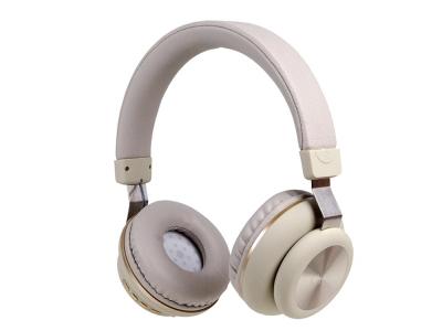 Безжични слушалки Bluetooth GJBY CA-022 , Бежов