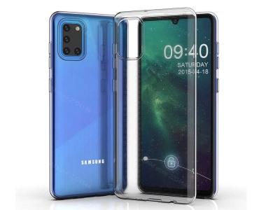 Силиконов калъф за Samsung Galaxy A31, Прозрачен
