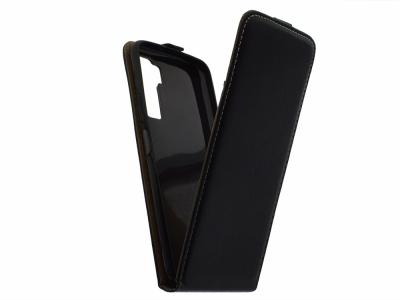 Калъф тефтер Slim Flexy за Huawei P40 Lite 5G, Черен