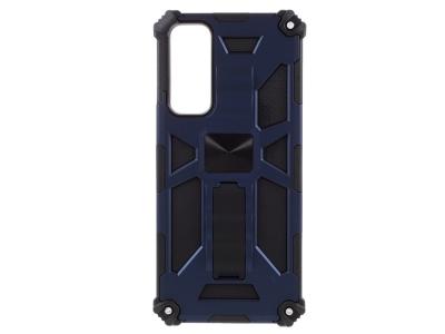 Удароустойчив калъф Kickstand Armor за Huawei P smart 2021/Y7a, Черен