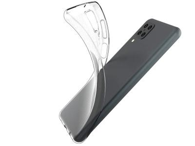 Силиконов калъф за Samsung Galaxy A12, Прозрачен