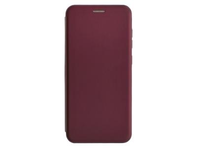 Калъф Тефтер ELEGANCE за Samsung Galaxy A12, Тъмно розов