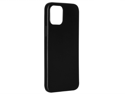 Силиконов Гръб Level за iPhone 12 / 12 Pro, Черен