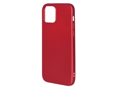 Силиконов Гръб Level за iPhone 12 / 12 Pro, Червен