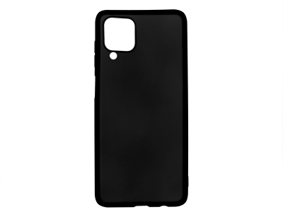 Силиконов Гръб Level за Samsung Galaxy A12, Черен