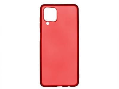 Силиконов Гръб Level за Samsung Galaxy A12, Червен