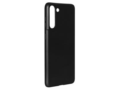 Силиконов Гръб Level за Samsung Galaxy S21, Черен