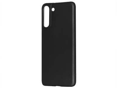 Силиконов Гръб Level за Samsung Galaxy S21 Plus, Черен