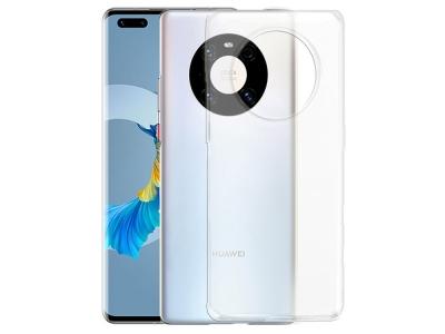 Силиконов калъф 0.5mm за Huawei Mate 40 Pro, Прозрачен