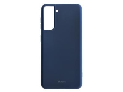 Силиконов калъф Roar Colorful за Samsung Galaxy S21 Plus, Тъмно син