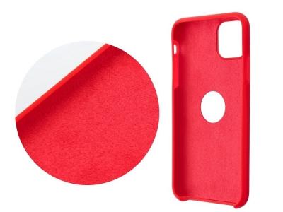 Калъф гръб LUX за iPhone 12 / 12 Pro with hole, Червен