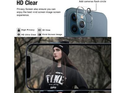 Стъклен Протектор за камера iPhone 12 Pro Max
