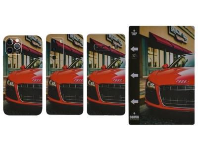 Изрязване на Фолио Протектор за телефон (Гръб), Червена кола