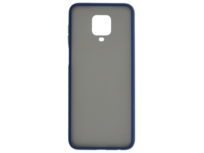 Удароустойчив Гръб Bumper за Xiaomi Redmi Note 9 Pro / Note 9S, Син