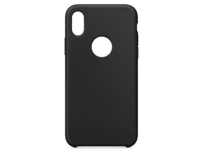 Калъф Гръб LUX за iPhone X / XS, Черен