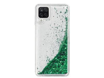 Силиконов калъф LIQUID PEARL за Samsung Galaxy A12, Зелен