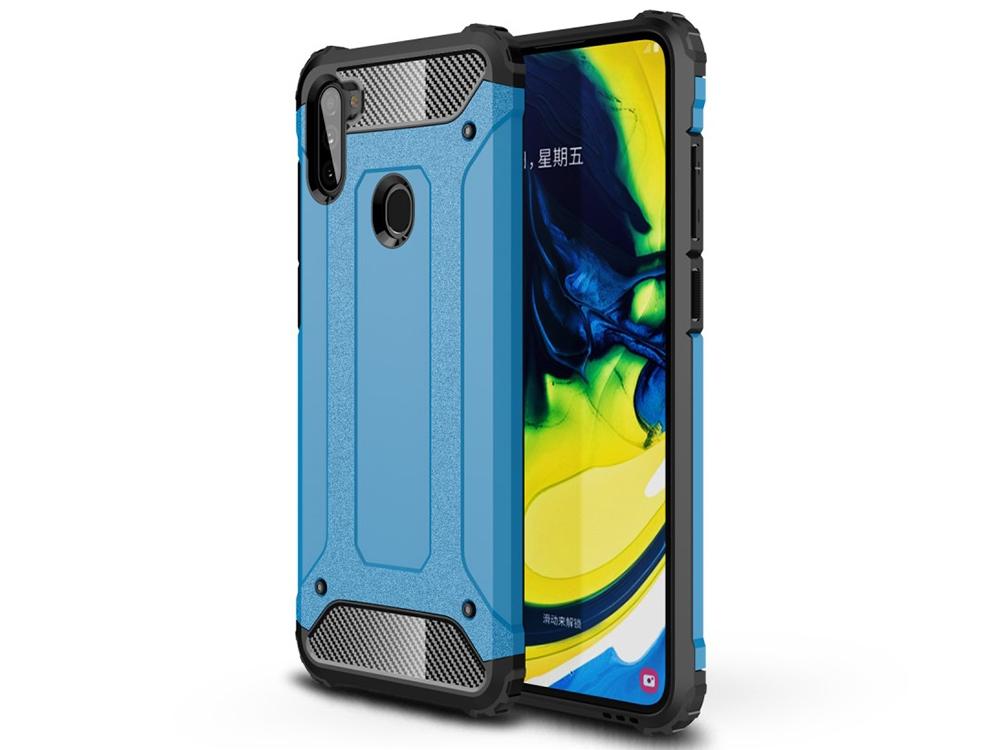 Удароустойчив калъф Armor за Samsung Galaxy A11, Светло син