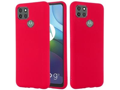 Калъф гръб Matte за Motorola Moto G9 Power, Червен