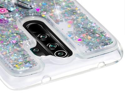 Силиконов калъф Glitter за Xiaomi Redmi Note 8 Pro, Усмивка