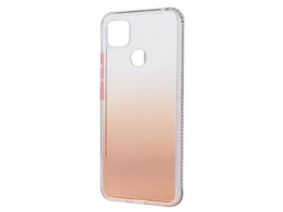 Удароустойчив калъф Gradient Color за Xiaomi Redmi 9C, Оранжев