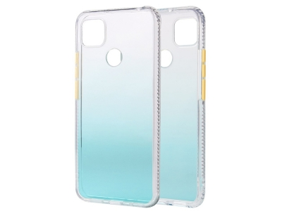 Удароустойчив калъф Gradient Color за Xiaomi Redmi 9C, Зелен