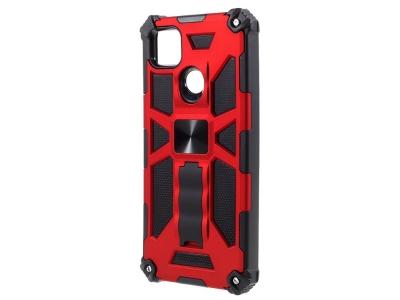Удароустойчив калъф Kickstand Armor за Xiaomi Redmi 9C, Червен