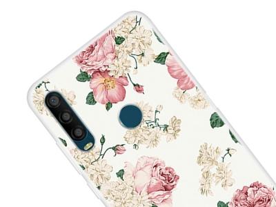 Силиконов калъф за Alcatel 1SE (2020), Цветя