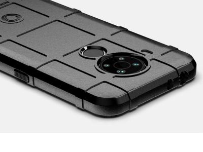 Удароустойчив Калъф Grid за Nokia 5.4, Черен
