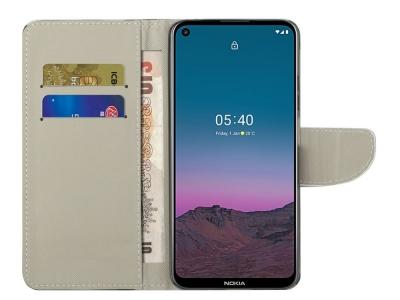 Калъф Тефтер за Nokia 5.4 , Камуфлаж