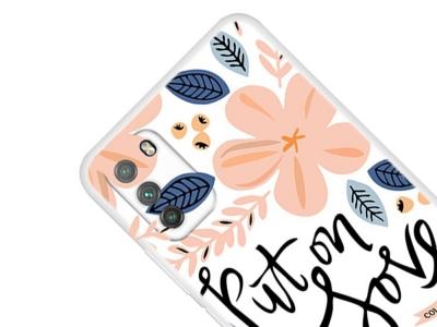Силиконов калъф за  Xiaomi Poco M3, Put on Love