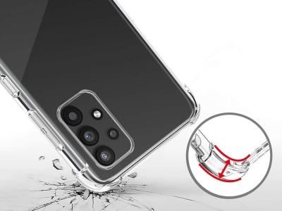 Силиконов калъф Jelly Roar за Samsung Galaxy A32 (5G), Прозрачен