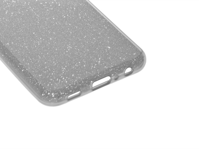 Силиконов калъф SHINING за Samsung Galaxy A32 (5G), Сребрист