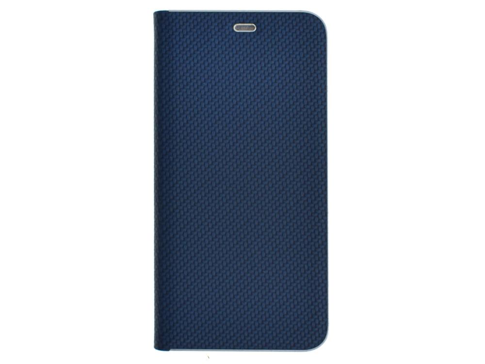 Калъф Тефтер Carbon LUNA за Samsung Galaxy A52 (5G) / A52 LTE (4G), Син