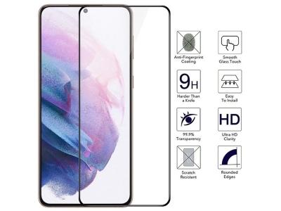Стъклен Протектор 5D Full Glue Roar за Samsung Galaxy A52 5G / A52 LTE (4G), Черен