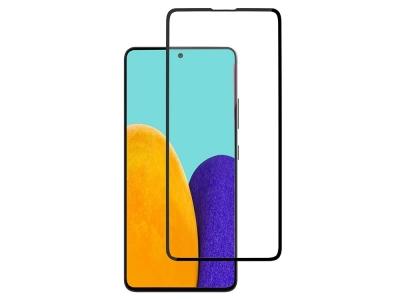 Стъклен Протектор 5D Full Glue за Samsung Galaxy A52 5G / A52 LTE (4G), Черен