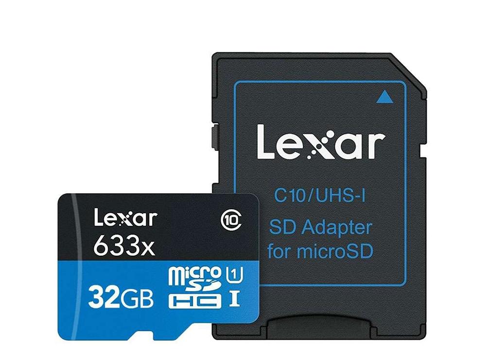 Карта памет 32GB MicroSD LEXAR с Адаптер