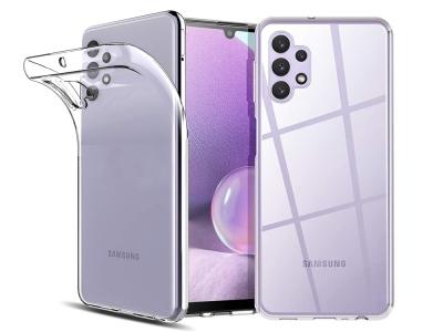 Силиконов калъф 0.5mm за Samsung Galaxy A32 LTE (4G), Прозрачен