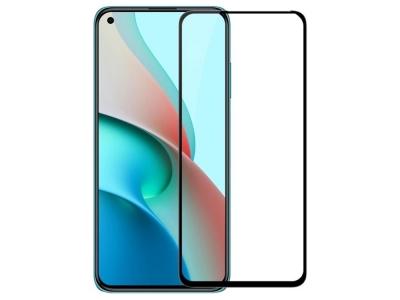 Стъклен Протектор Full Glue 5D за Xiaomi Redmi Note 9T 5G, Черен