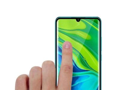 Стъклен Протектор 5D Full Glue за Xiaomi Note 10 Pro, Черен