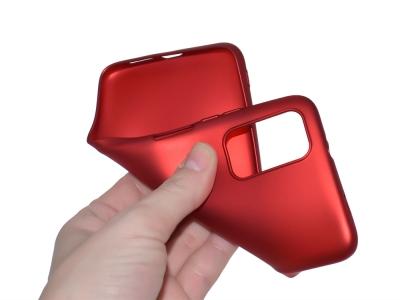 Силиконов гръб Level за Xiaomi Redmi 9T, Червен