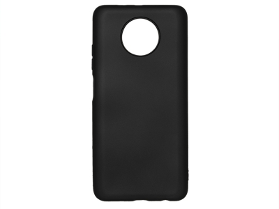 Силиконов гръб Level за Xiaomi Redmi Note 9T 5G, Черен