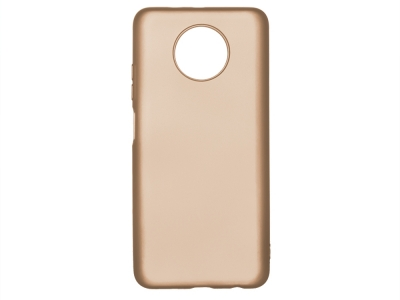 Силиконов гръб Level за Xiaomi Redmi Note 9T 5G, Златист