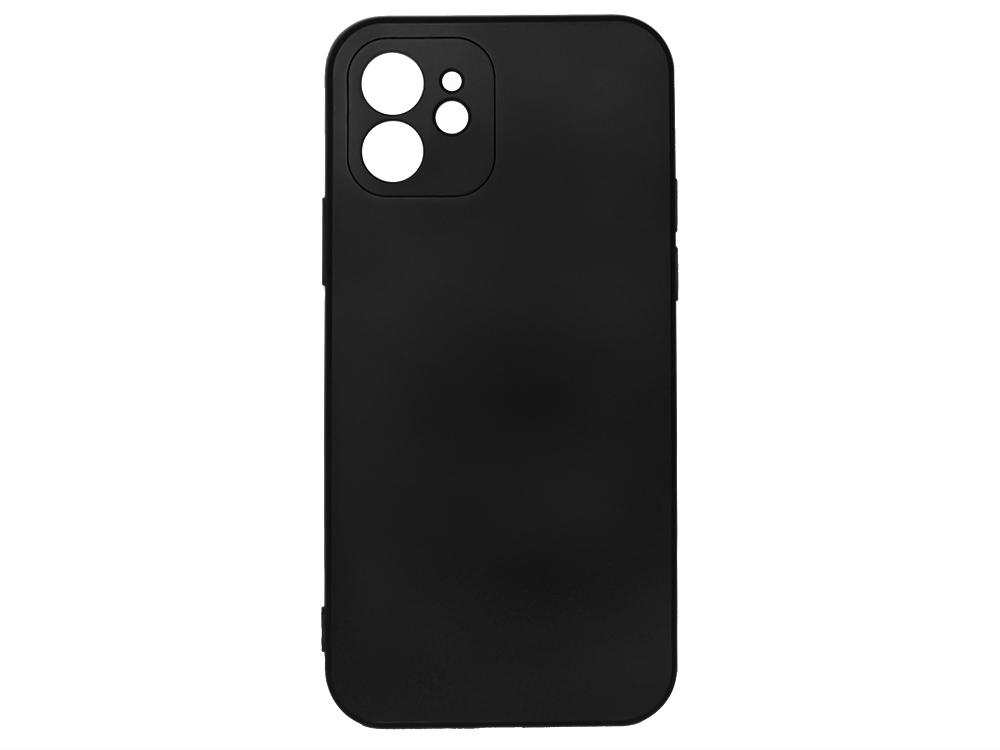 Силиконов Гръб Level за iPhone 12  Черен