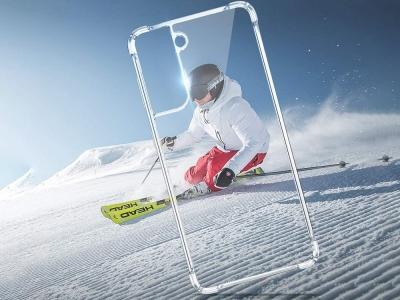 Силиконов калъф Drop Resistant за Samsung Galaxy S21, Прозрачен