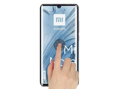 Стъклен Протектор 5D Full Glue за Xiaomi Mi Note 10 Pro, Черен